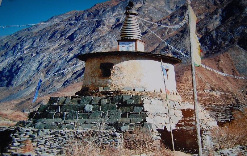 廓尔克王宫里的与图伯特有关的图片-西藏