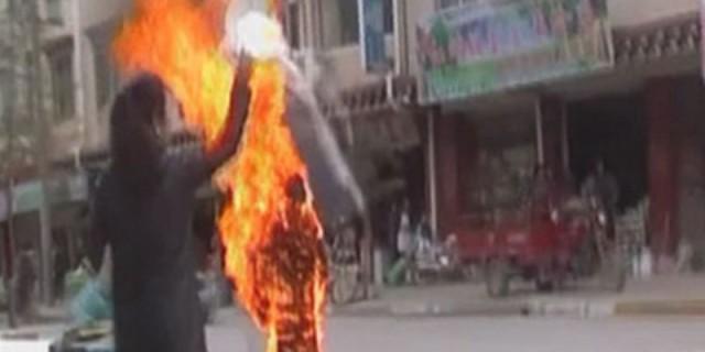 西藏人自焚2