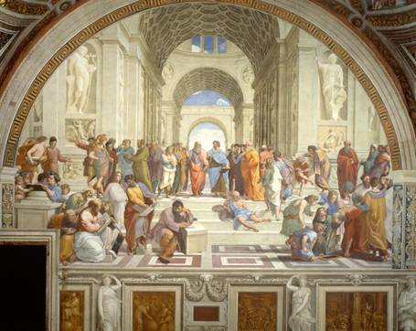 古希腊繁荣的各理性主义学派