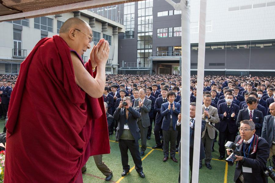 达赖喇嘛在日本