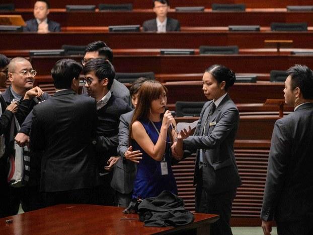 香港立法会宣誓风波