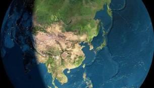 太空拍摄到的地球表面的照片