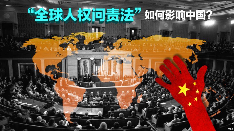 美国国会通过全球人权问责法