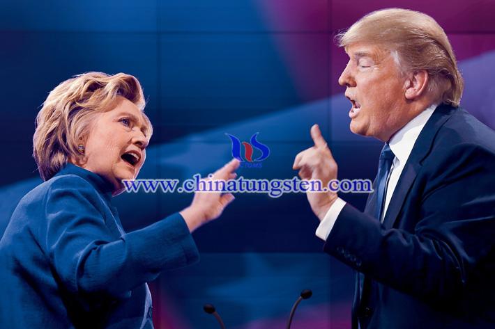 美国大选:希拉里、川普