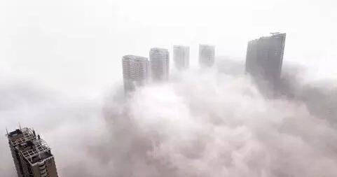 雾霾下的中国