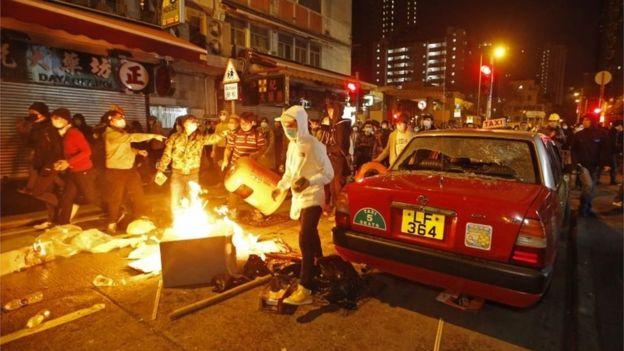 香港旺角骚乱