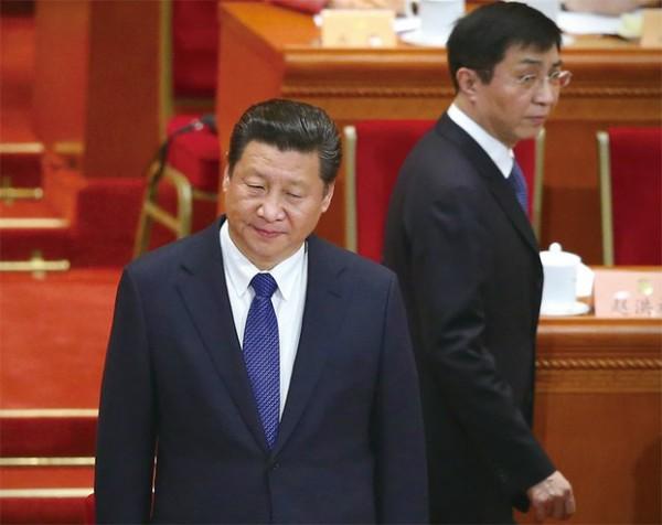 习近平和王沪宁