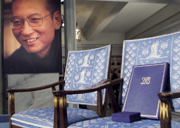 刘晓波-空椅子