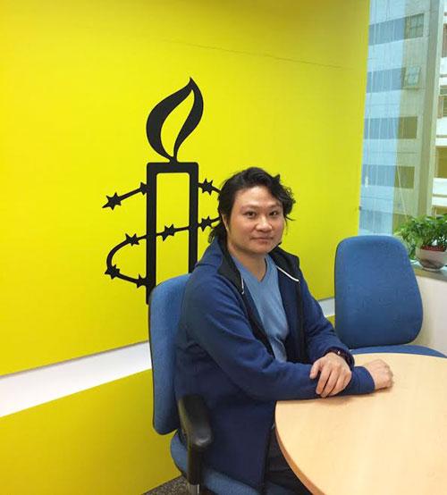 国际特赦组织研究员潘嘉伟