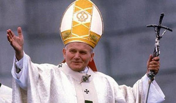 已故的波兰籍教皇若望•保禄二世