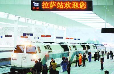 拉萨火车站