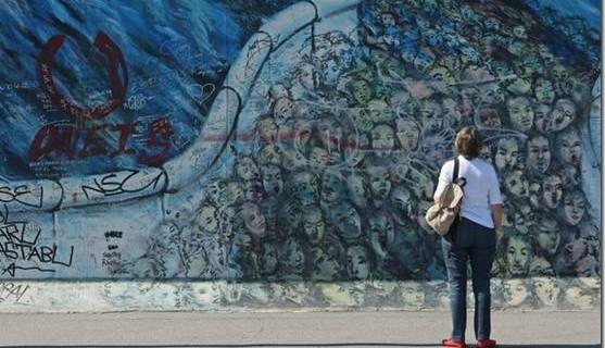 昔日的柏林墙