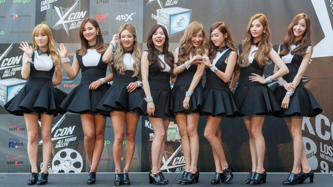 限韩令下,又一得罪中国网民的是韩国人气团体少女时代成员