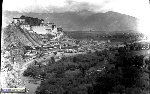 1940年代去西藏的西方人拍摄的照片1