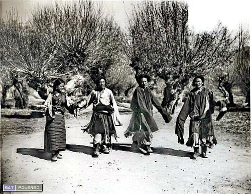1940年代去西藏的西方人拍摄的照片11