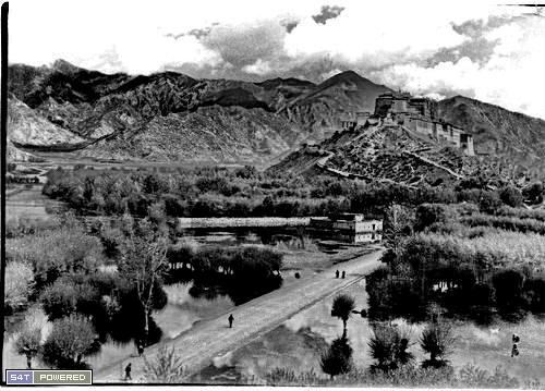 1940年代去西藏的西方人拍摄的照片2