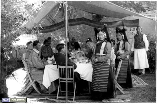 1940年代去西藏的西方人拍摄的照片5