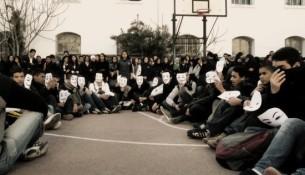 2011年突尼斯大学里最流行的面具