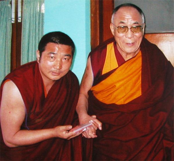 喇嘛久美与达赖喇嘛