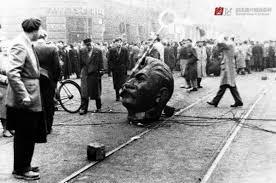 拆除斯大林塑像