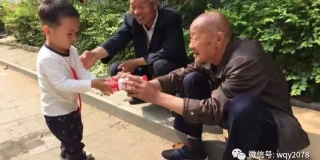 王清营的父亲和孩子