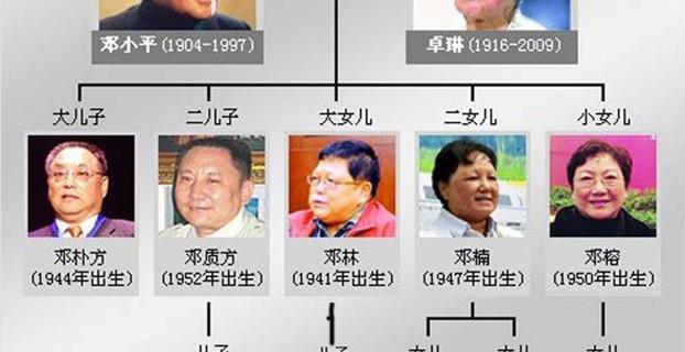 邓小平与卓琳的后代