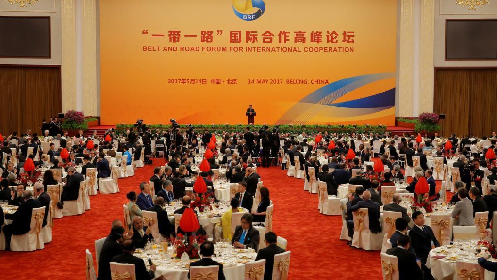 北京一带一路晚宴2017年5月14日