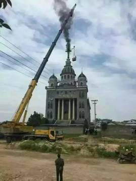 夏宝龙在浙江拆毁教堂