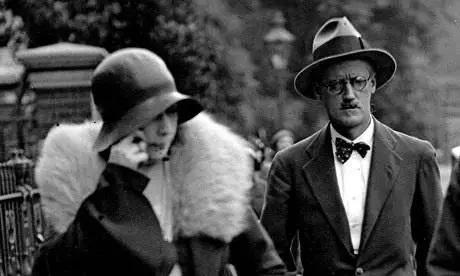詹姆斯·乔伊斯(James Joyce)与诺拉(Nora)