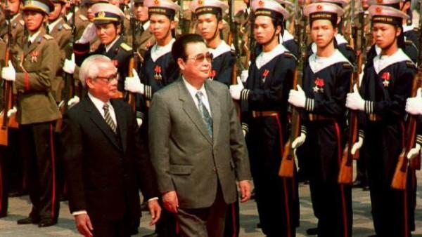 1992年中国总理李鹏访问越南