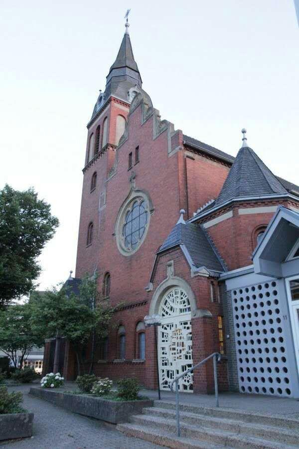 刘晓波追思会教堂