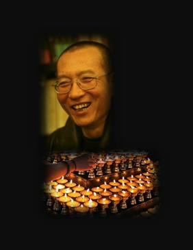 图伯特人在社会媒体上哀悼刘晓波1