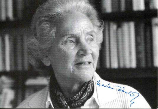 时代周刊社长兼总编Marion Dönhoff