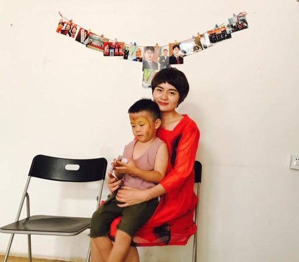 李文足和儿子
