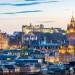 苏格兰首都埃丁堡的古城堡