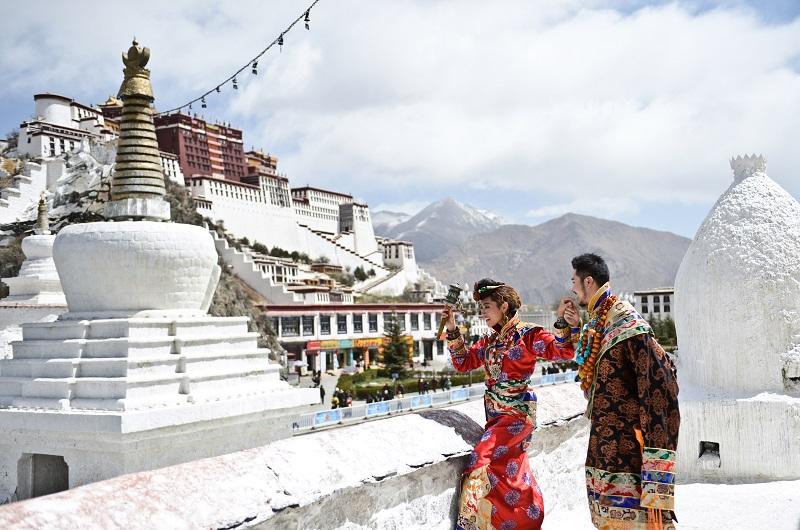 布达拉宫-西藏