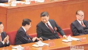 习近平、江泽民、胡锦涛