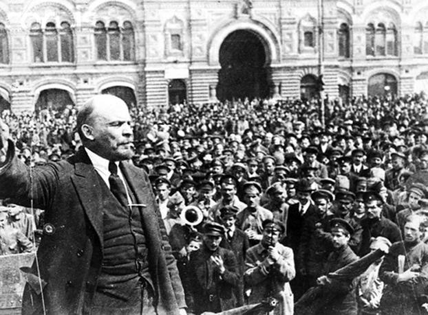 列宁在十月革命
