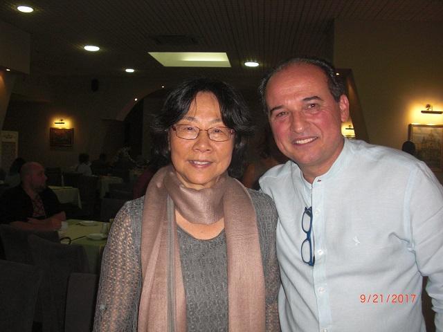 4.廖天琪和国际笔会国际秘书卡洛斯