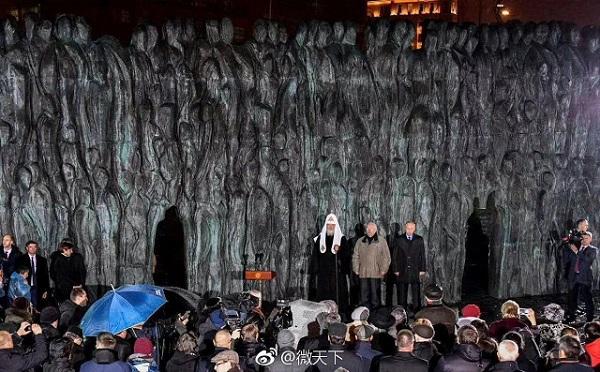 悲伤之墙-俄罗斯十月革命普京