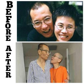 正当壮年的刘晓波突然抛下我们走了!