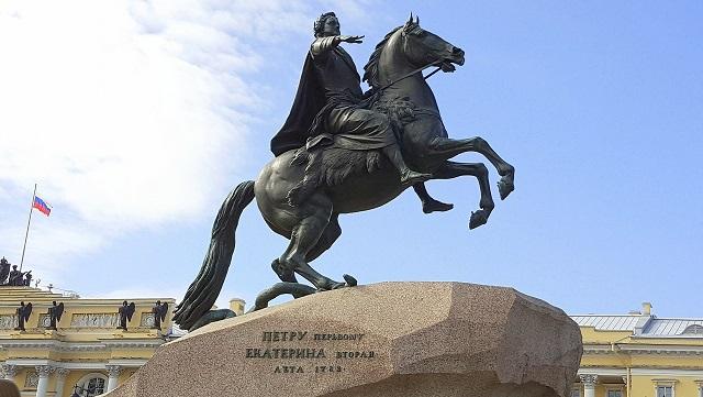 彼得大帝青铜像