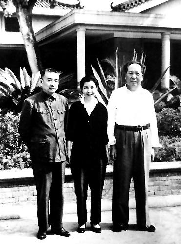 毛泽东与陶铸曾志夫妇