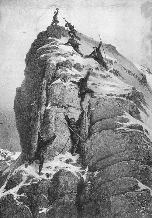 爱德华温伯首次登顶马特洪峰的巨大灾难
