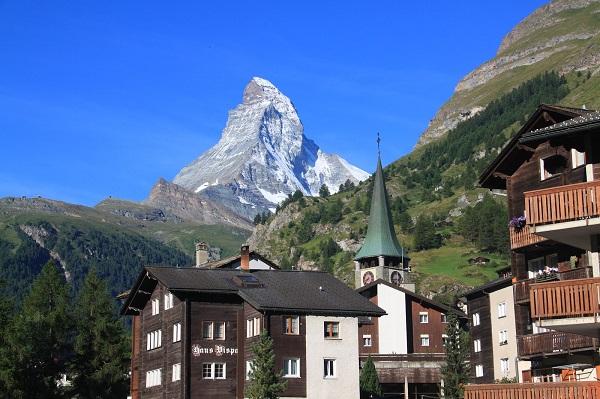 阿尔卑斯山的雪峰之王