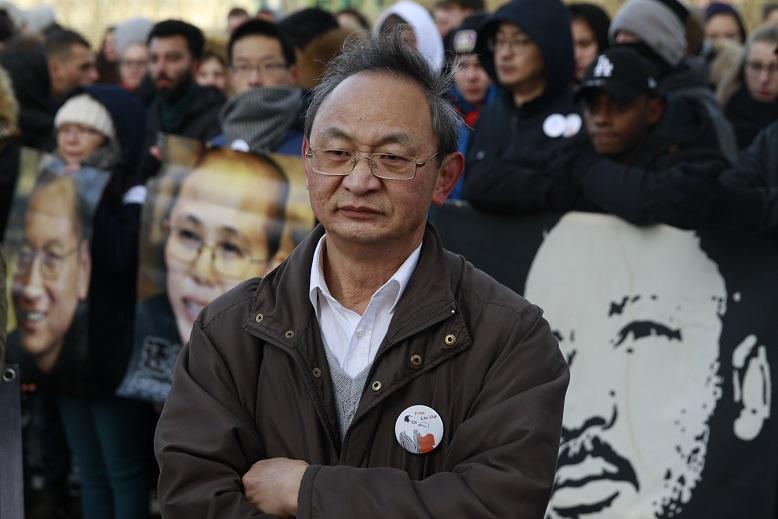 7-费良勇参加抗议活动