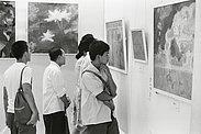 """第二次""""星星美展""""(1980年8月于北京美术馆)"""