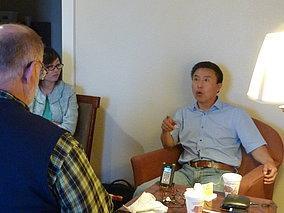 采访原民运活动家吕洪来先生
