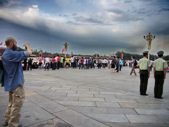在天安门广场的一小时17