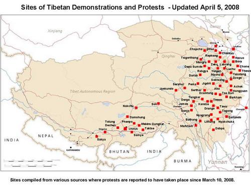 西藏地图3